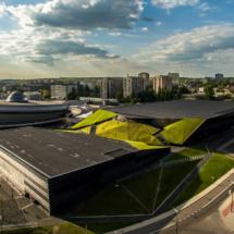 NOSPR, katowice, śląsk, polska, slaskie, fotografia, filmowanie, aerial